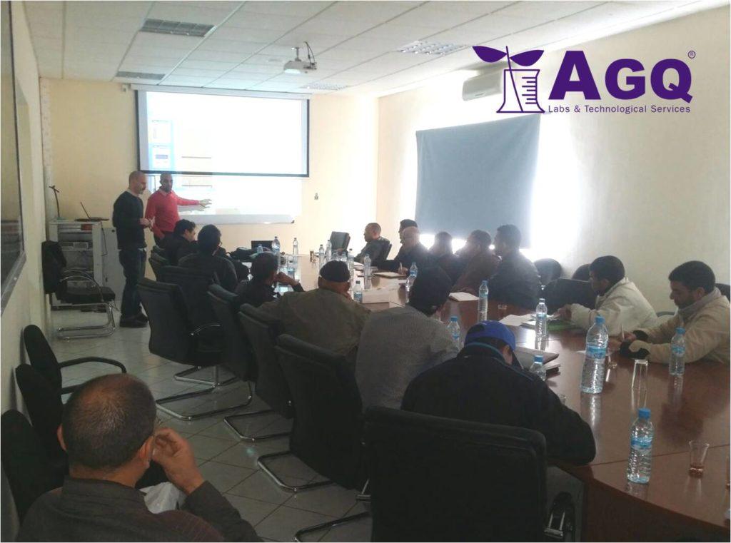Formation technique pour la coopérative Zaouia et Copag